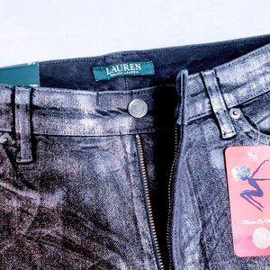 Ralph Lauren Jeans - 🆕Lauren Ralph Lauren Gunmetal Coated Skinny Jeans